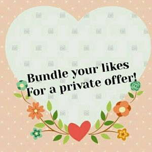 Other - Bundle your likes! 💜💛💚💙❤